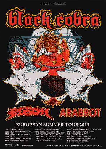 black cobra tour ppster